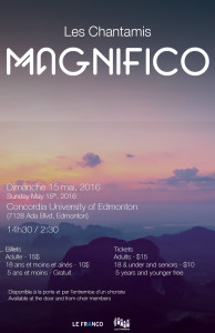 chantamis magnifico poster (update)