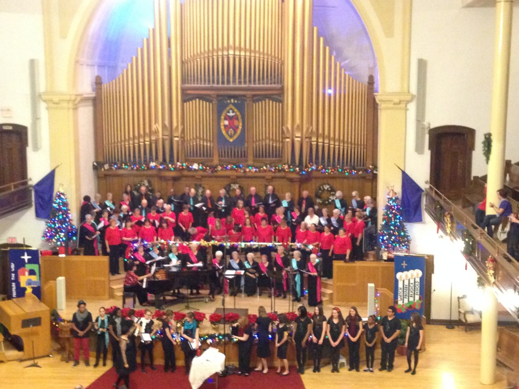 Concert de Noël 2013 des Chantamis d'Edmonton