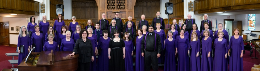Chorale Les Chantamis Choir, Edmonton, Mai, 2019